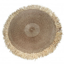 The Raffia Fringed Carpet